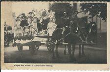 Ansichtskarte Wagen der Maler- und Anstreicher-Innung - Festwagen - Umzugswagen