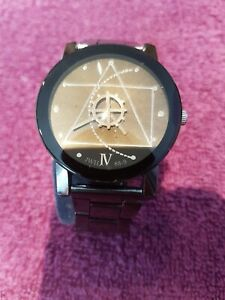 Gents Watch With Masonic Details on face