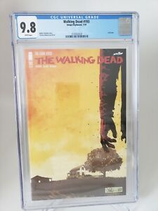 WALKING DEAD #193 CGC 9.8 GRADED WHITE PAGES IMAGE COMICS KIRKMAN! FINAL ISSUE!