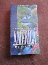 Patriotic Music Sites USA America American Landscapes Landmarks VHS VIDEO New