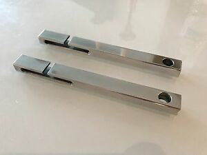 BMW E46 SOLID ALUMINIUM ALLOY SEAT BELT TIDY BUTLER GUIDE SET 1997-2006 Years