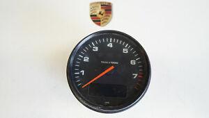 Porsche 964 993 Instrument Cluster Tachometer Tacho on - Board Computer h-31