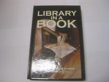 Library in a Book edited by by Jennifer Hall and Rachel Greenblatt ANTHOLOGY