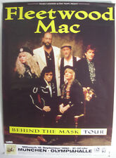 Fleetwood Mac Concert Tour Poster 1990 Behind The Mask