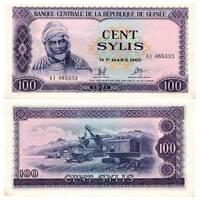 Pick 19 Guinea 100 Sylis 1971  Unc.AU / 3839541vvv