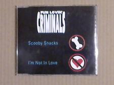 Fun Lovin' Criminals - Scooby Snacks (CD Single; 2 Tracks) (Promo)
