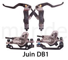 JUIN DB1 Mountain Bike Hydraulic Disc Brake Set W/ Rotor 160mm*2 Gray