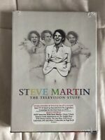 Steve Martin: The Television Stuff (DVD, 2012, 3-Disc Set) Brand New In Wrapping