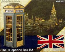 METALLIC DETAILS 1/35 scale BRITISH TELEPHONE BOX K2 - RESIN MODEL KIT #3517