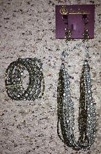 """BRAND NEW - Premier Designs """"WEAR IT NOW"""" Necklace/Earrings/Bracelet-NIB-RV $135"""
