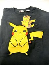 Levis × Pokemon Happy Pikachu Caviar Crewneck Sweatshirt Unisex Size M