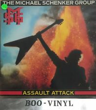 Michael Schenker Group Assault Attack Vinyl Record LP 1982 Chrysalis CHR1393 Ex