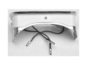 NEW! 1965 - 1966 Ford Mustang Console light, lamp rear with lens Cast Chrome