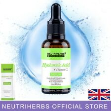 Hyaluronic Acid with Vitamin C Face Serum 30 ml - For Micro Needle  Derma Roller