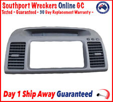 Genuine XV30 Toyota Camry 30 Series 02-06 Air Con Vents Fascia Dash Panel -Exprs
