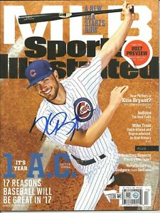 Kris Bryant Autographed Sports Illustrated 2017 Preview 3/27-4/3/17 Chicago Cubs