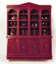 Hutch China Cabinet Dollhouse Miniature Furniture Dining Room Vintage 1950s
