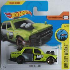 Hot Wheels-Time attaxi signalgrün Taxi Nouveau/Neuf dans sa boîte