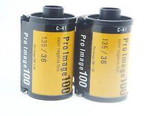2x KODAK PRO IMAGE 100 35mm 36Exp CHEAP PRO COLOUR FILM By 1st CLASS ROYAL MAIL