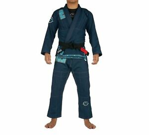 Fuji Submit Everyone Limited Edition Mens Brazilian Jiu-Jitsu BJJ Gi Blue w Teal