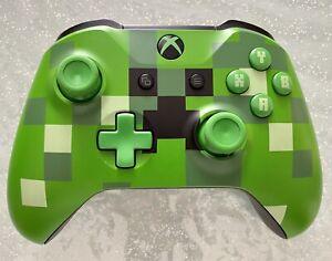 Controller Xbox One MINECRAFT CREEPER LIMITED EDITION originale Microsoft, Raro