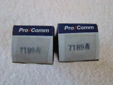 NOS NIB Pro Comm 7189A EL84 Vacuum Tubes Matched Pair
