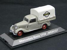 "Schuco Mercedes-Benz 170 V Planenwagen 1:43 ""Werco"" (JS)"