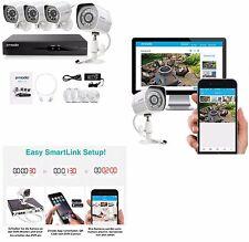 Überwachungssystem Videoüberwachung Full-HD IP Kameras LAN 1920x1080