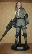 1/6 custom METAL GEAR SOLID SNIPER WOLF Hot Toys action figure OOAK 12 doll BBI