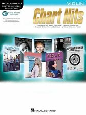 Play-Along Chart Hits IMAGINE DRAGONS Coldplay ADELE Violin FIDDLE Music Book