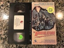 The Annihilators VHS! 1985 Action Cult! Demon Seed Drive Code Of Honor