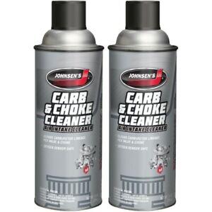 Johnsen Carb Cleaner Compliant Removes Non-VOC, varnish sludge 10oz -2 Pack