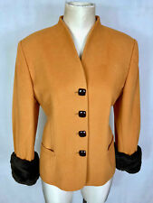 LUISA SPAGNOLI Giacca Donna Lana Cashmire Wool Woman Jacket Blazer Sz.L - 46