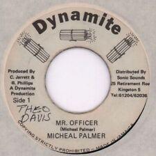 "Michael Palmer/ Sly And Robbie(7"" Vinyl)Mr Officer-Dynamite-Jamaica-Ex/Ex-"
