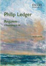 Philip Ledger Requiem (vocal score, Encore Publications) ISMN 979-0-9002162-1-2