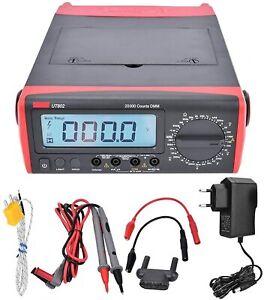 Multimètre numérique UT802 Compteur de test de tension à plage manuelle LCD