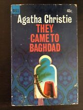 AGATHA CHRISTIE THEY CAME TO BAGHDAD DELL 1965 FIRST EDITION
