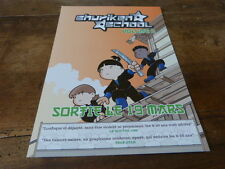 MANGA - Plan média / Press kit !!! SHURIKEN SCHOOL VOL 2 !!!