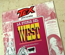 TEX PRESENTA LA STORIA DEL WEST - N° 8 I BUONI E I CATTIVI - FASCICOLO OTTIMO