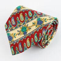 PFAU 100% Seiden Krawatte Tie Cravate 102