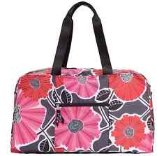 Vera Bradley Collapsible Duffel Bag Tote Travel Luggage *Cheery Blossoms* NWT