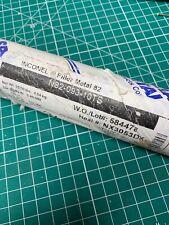 """Inconel Filler Metal 82 0.93/"""" x 36/"""" Tig Welding Filler Rod 10lbs"""