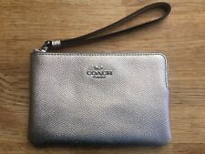 Coach Leather Corner Zip Wristlet Mini Bag Purse BNWT Christmas RRP £75 UK 30aec6c605a1e