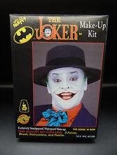1989 Batman THE JOKER Halloween makeup costume kit MIB Jack Nicholson DC comics