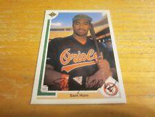 Sam Horn Autographed/Signed 1991 Upper Deck #530 Card MLB Baltimore Orioles