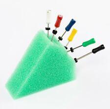 100 Endo Sponge Foam Green Dental Triangle Cushions Refills Inserts Files 2x50