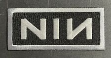 Nine Inch Nails Nin Logo Embroidered Patch N004P Nitzer Ebb Lords Of Acid