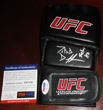ee7db0a14bf TODD DUFFEE SIGNED AUTO D GLOVE PSA DNA COA UFC 102 FASTEST KO VS