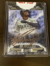 2016 Topps Tier One Ken Griffey Jr Bronze On Card Auto #/25 Mariners
