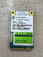 Option GTM380 3G WWAN Mobile Broadband GPS Card Board M00301 GT M 380